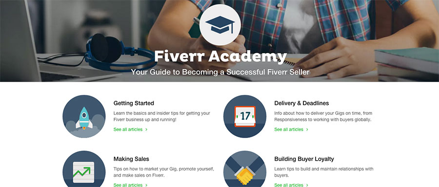 The Fiverr Academy