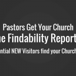 Church Assessment - Online Visibility Report - New Church Visitors