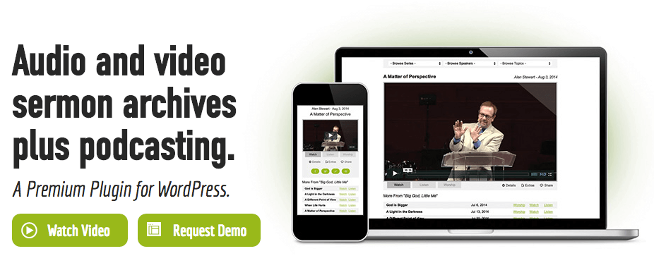 Series Engine - Best Sermon Podcasting Plugin for WordPress