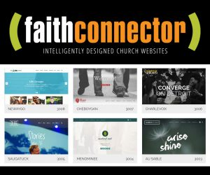 The Best Church Website Builder - FaithConnector - WYSIWYG