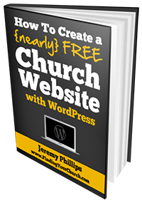 Create a Church Website with WordPress